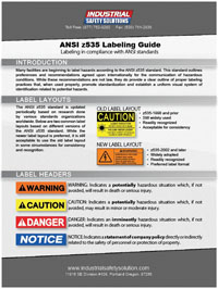 free ansi labeling guide